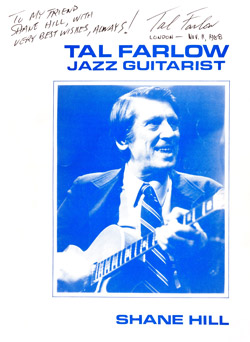 Tal Farlow Book Cover